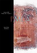 On Poetry (PMLA, January 2005)